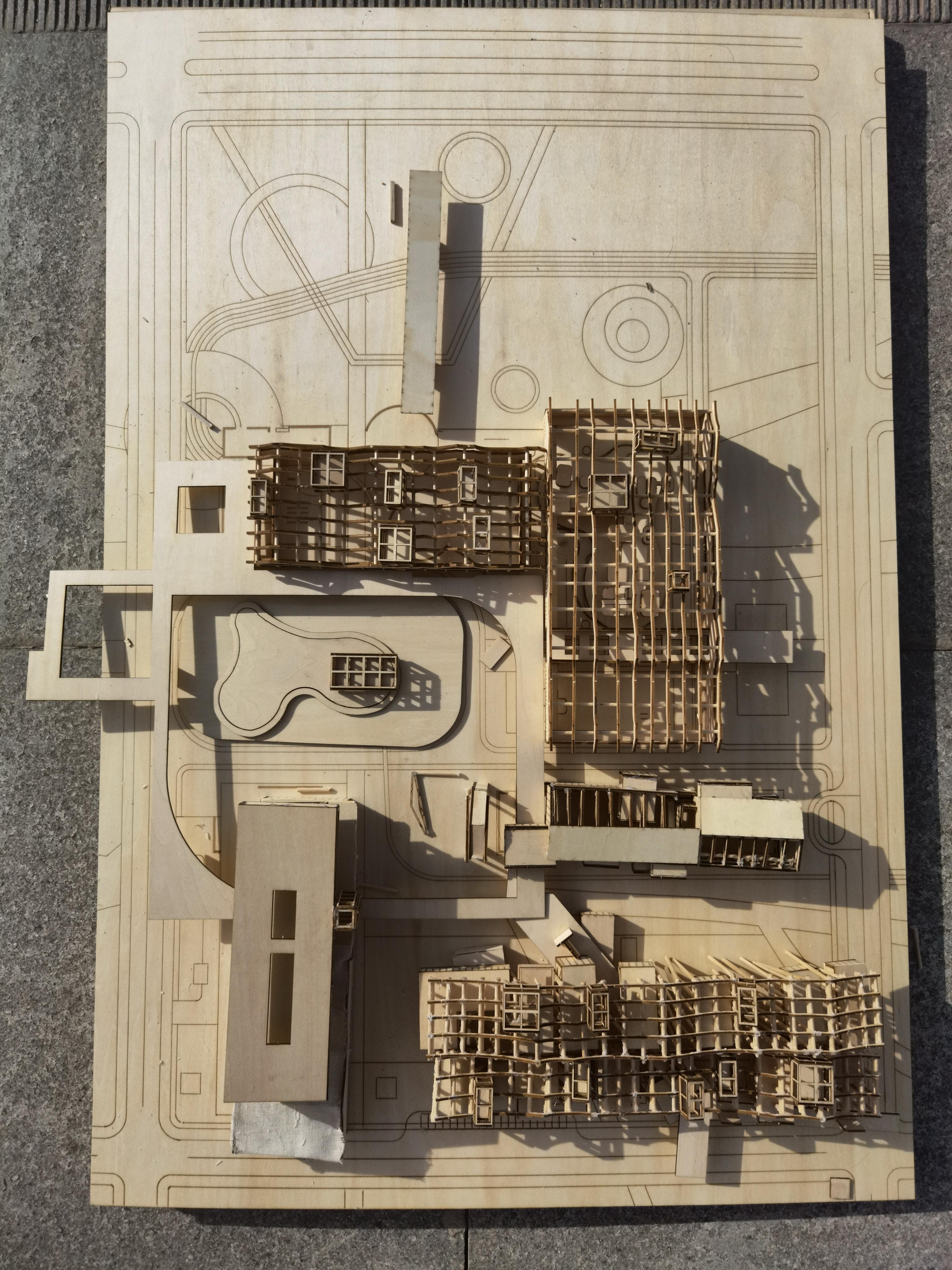 长安大学建筑学院2021毕业设计系列展 006